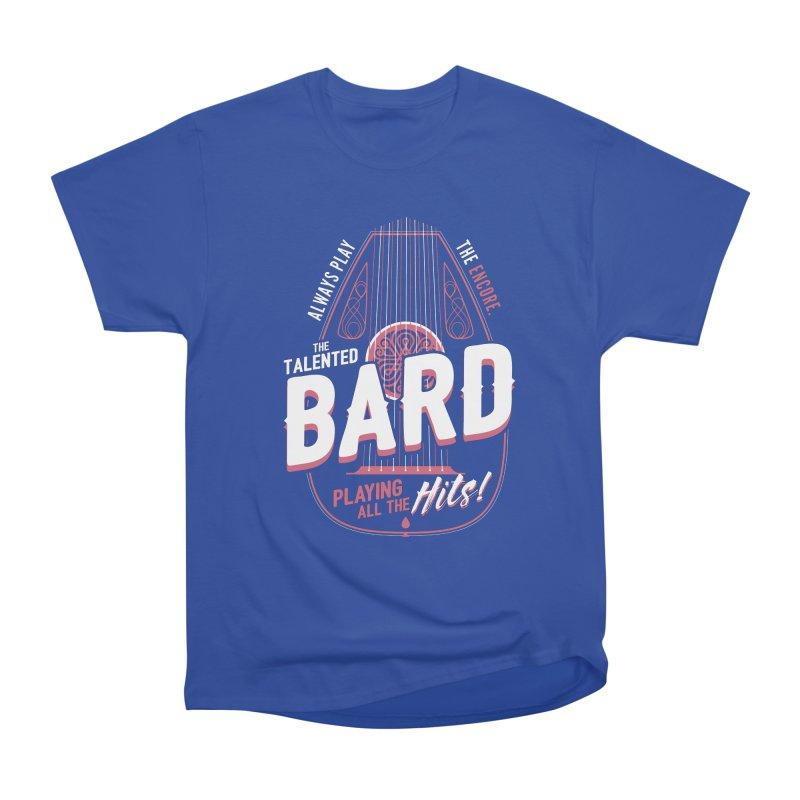 D&D Bard Women's Heavyweight Unisex T-Shirt by carlhuber's Artist Shop