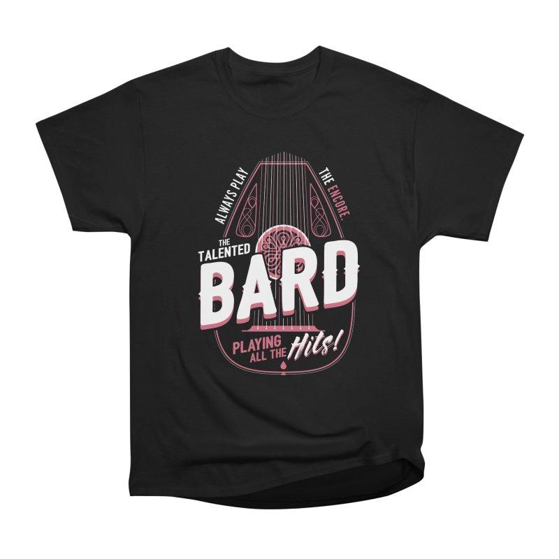 D&D Bard Women's  by carlhuber's Artist Shop
