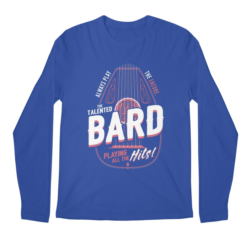 D&D Bard Men's Regular Longsleeve T-Shirt by carlhuber's Artist Shop