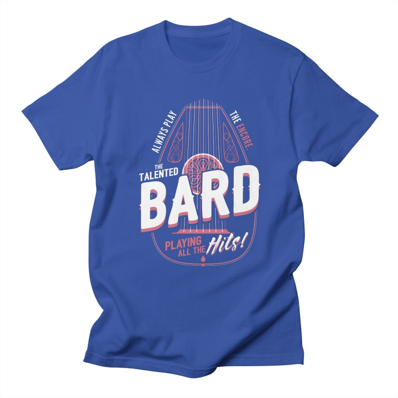 D&D Bard Men's T-Shirt by carlhuber's Artist Shop