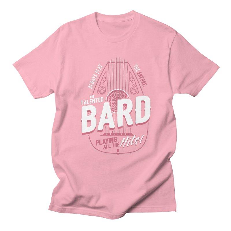 D&D Bard Women's Regular Unisex T-Shirt by carlhuber's Artist Shop