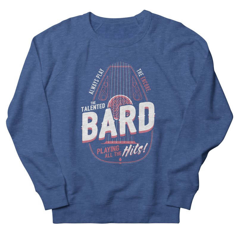 D&D Bard Women's French Terry Sweatshirt by carlhuber's Artist Shop