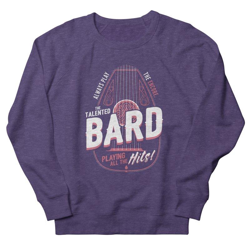 D&D Bard Women's French Terry Sweatshirt by carlhuber's Artist Shop