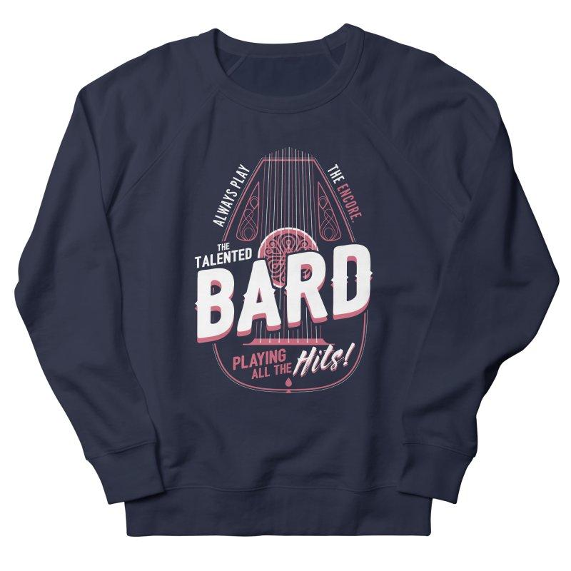 D&D Bard Men's French Terry Sweatshirt by carlhuber's Artist Shop