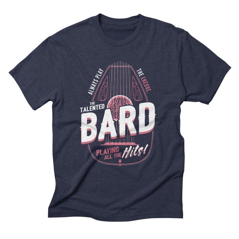 D&D Bard Men's Triblend T-Shirt by carlhuber's Artist Shop