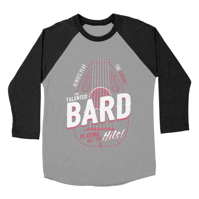D&D Bard Men's Baseball Triblend T-Shirt by carlhuber's Artist Shop