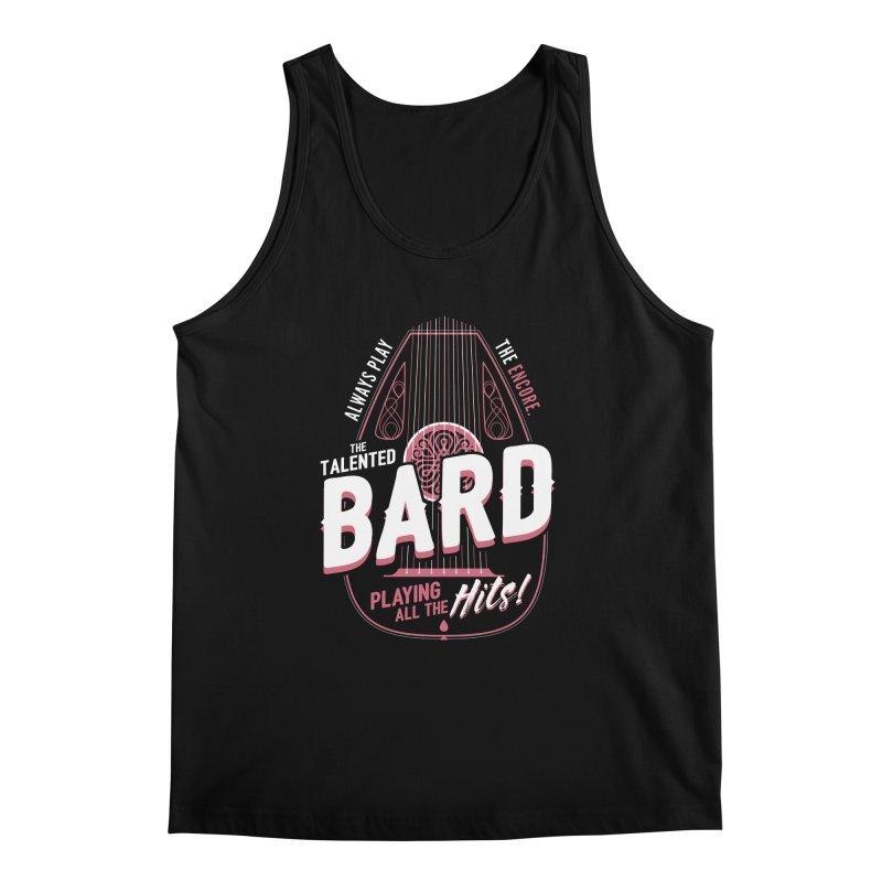 D&D Bard Men's Regular Tank by carlhuber's Artist Shop
