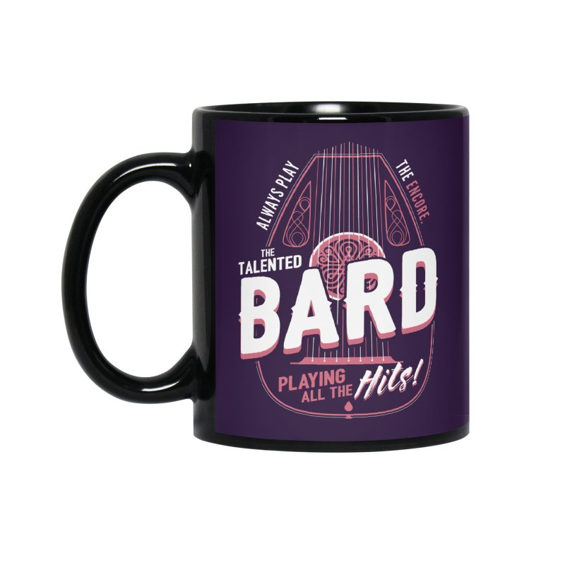 D&D Bard Accessories Mug by carlhuber's Artist Shop