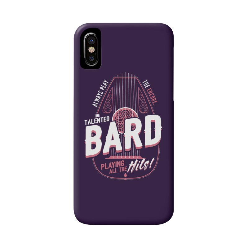 D&D Bard Accessories Phone Case by carlhuber's Artist Shop