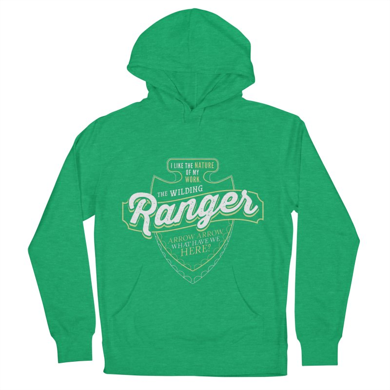 D&D Ranger Women's French Terry Pullover Hoody by carlhuber's Artist Shop