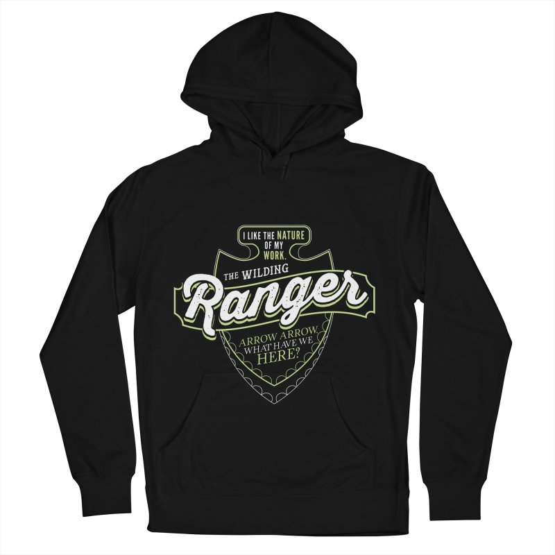 D&D Ranger Men's French Terry Pullover Hoody by carlhuber's Artist Shop