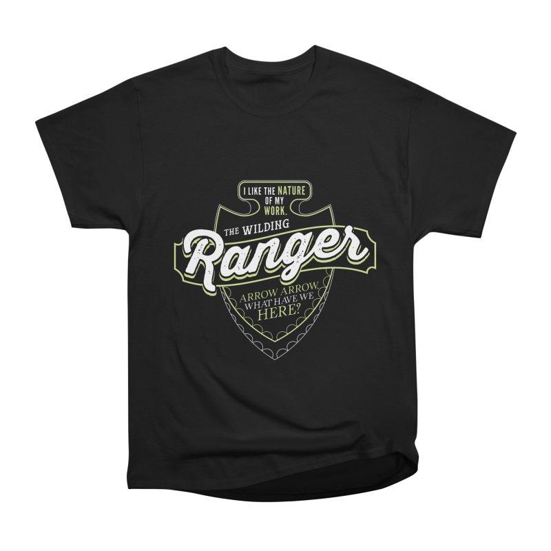 D&D Ranger Men's Heavyweight T-Shirt by carlhuber's Artist Shop