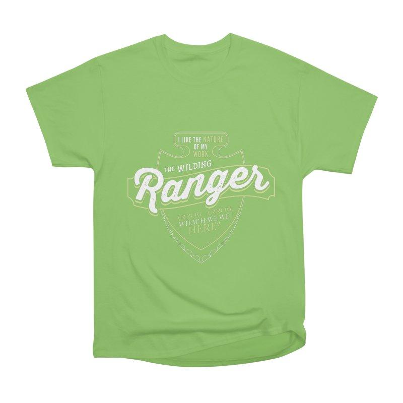 D&D Ranger Women's Heavyweight Unisex T-Shirt by carlhuber's Artist Shop