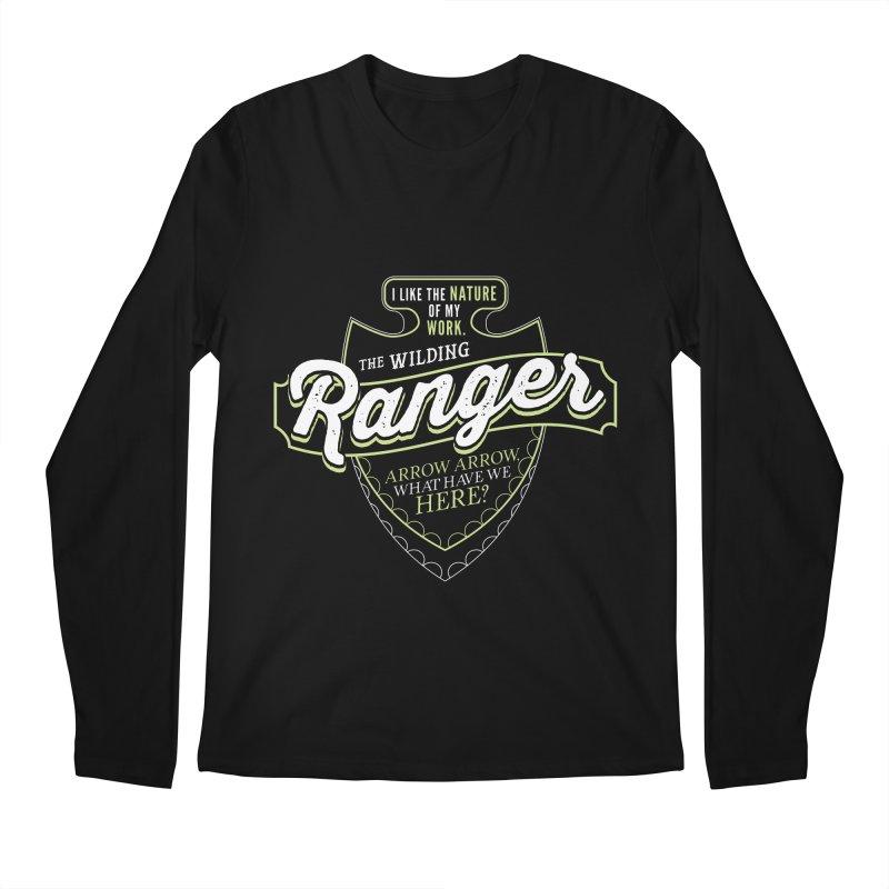 D&D Ranger Men's Regular Longsleeve T-Shirt by carlhuber's Artist Shop