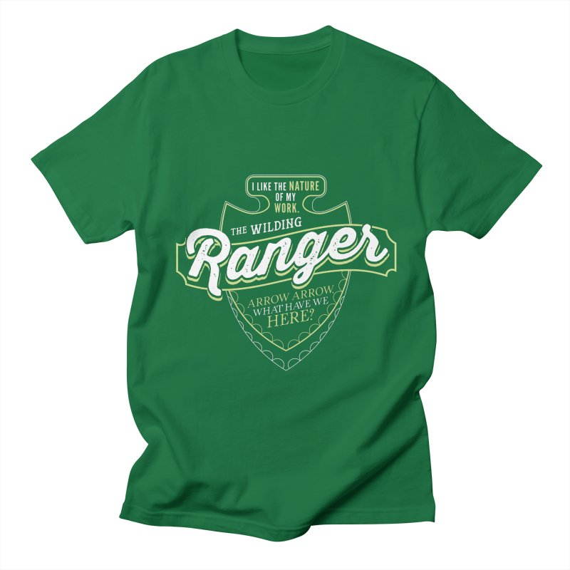 D&D Ranger Women's Regular Unisex T-Shirt by carlhuber's Artist Shop