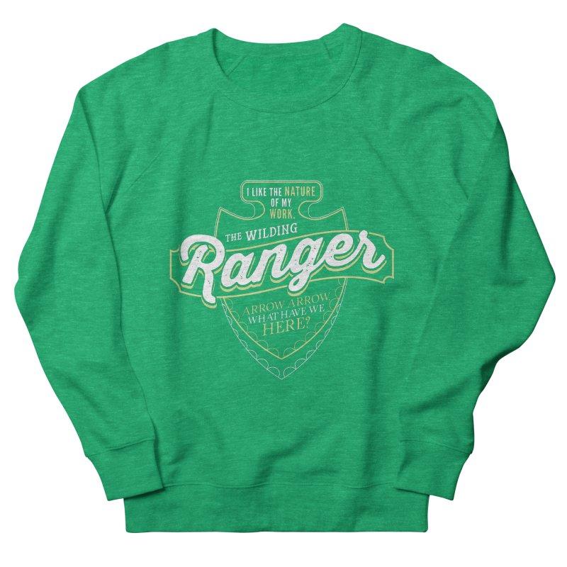 D&D Ranger Women's French Terry Sweatshirt by carlhuber's Artist Shop
