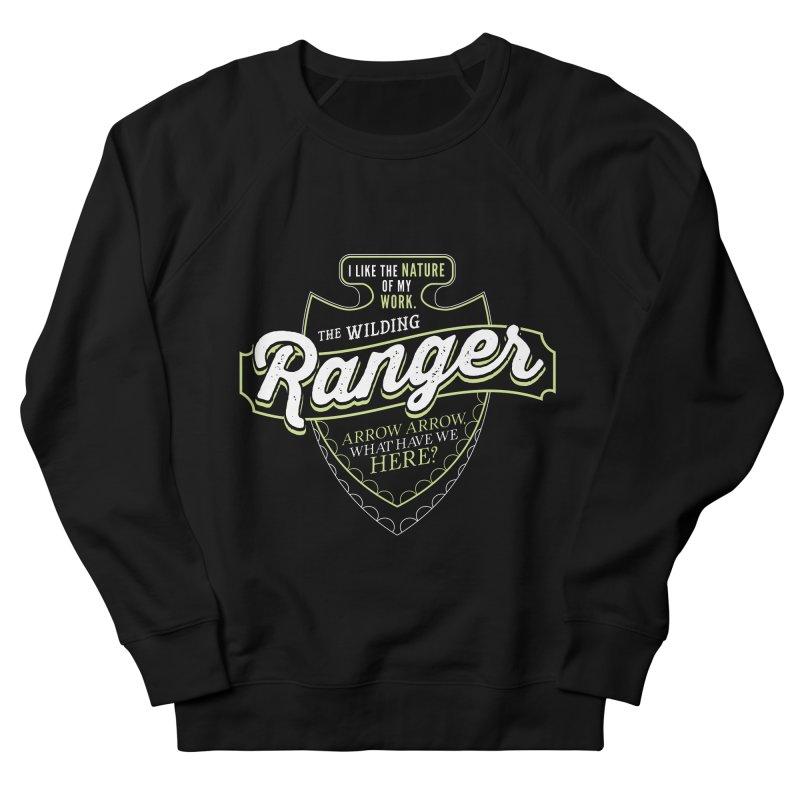 D&D Ranger Men's French Terry Sweatshirt by carlhuber's Artist Shop
