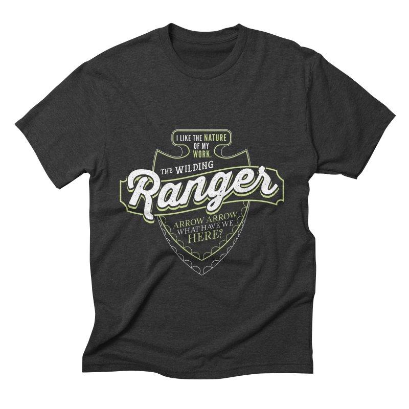 D&D Ranger Men's Triblend T-Shirt by carlhuber's Artist Shop