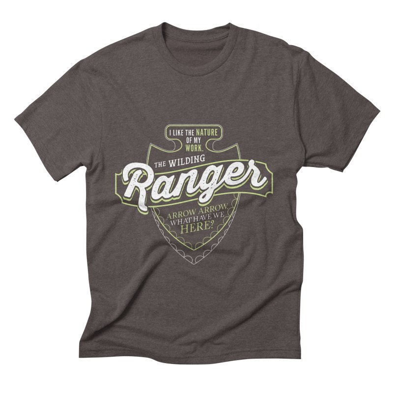 D&D Ranger Men's Triblend T-Shirt by carlhuber's Artist Shop