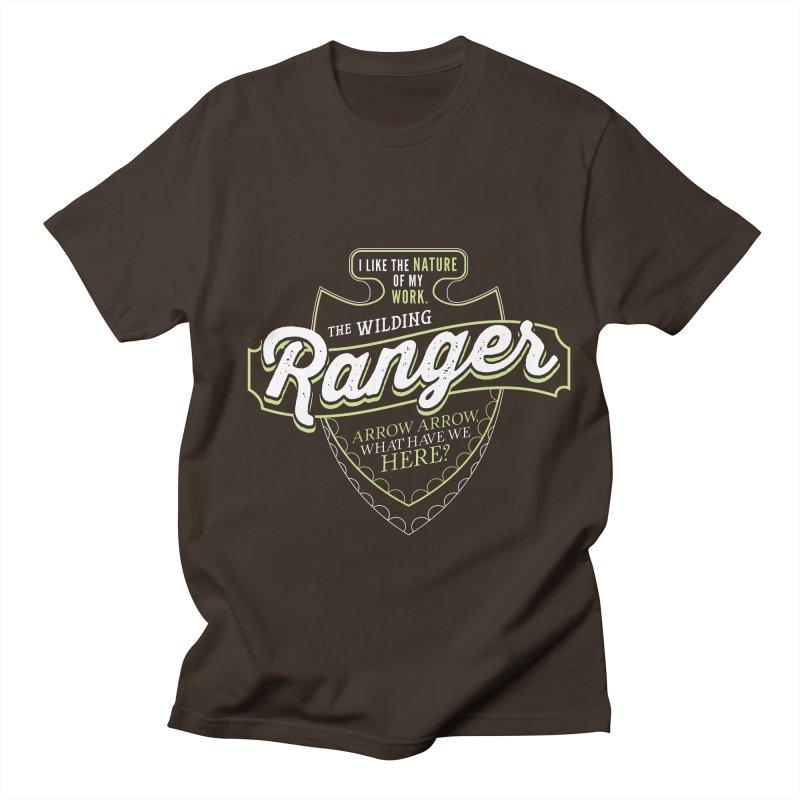 D&D Ranger Men's Regular T-Shirt by carlhuber's Artist Shop