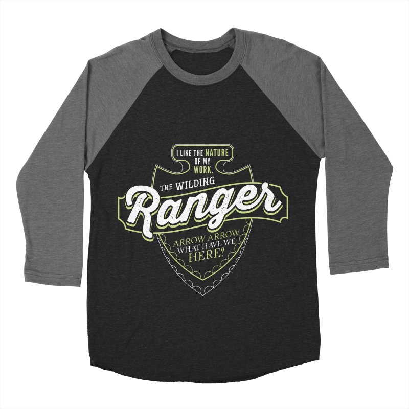 D&D Ranger Men's Baseball Triblend Longsleeve T-Shirt by carlhuber's Artist Shop