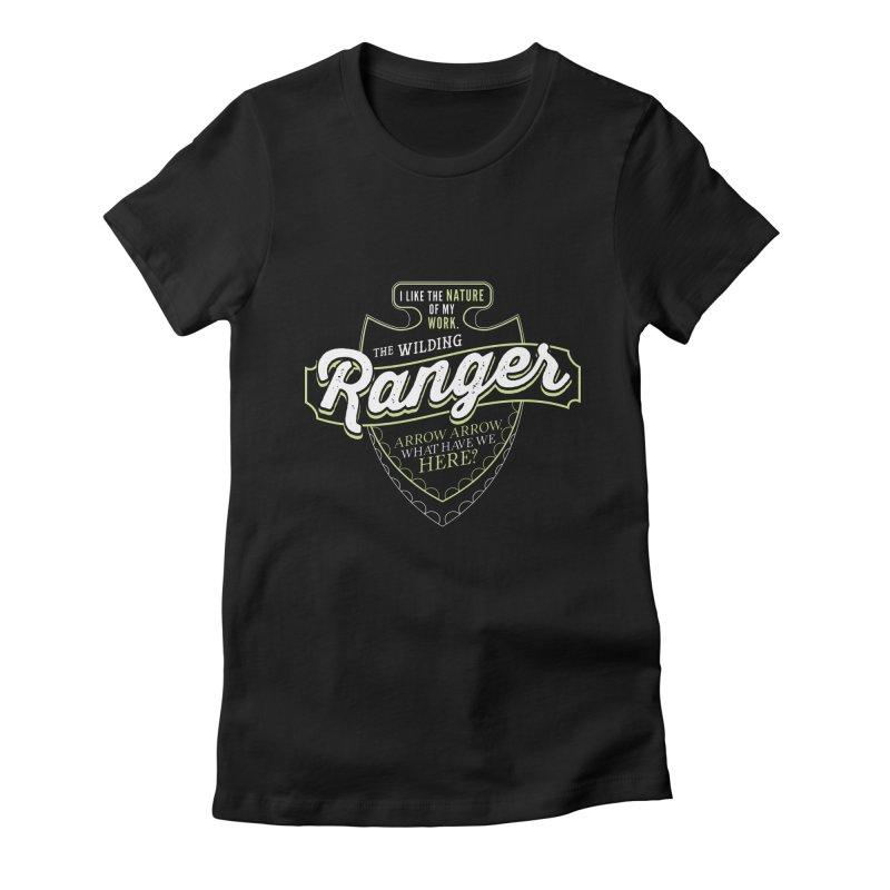D&D Ranger Women's Fitted T-Shirt by carlhuber's Artist Shop