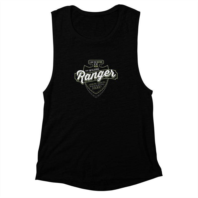D&D Ranger Women's Muscle Tank by carlhuber's Artist Shop