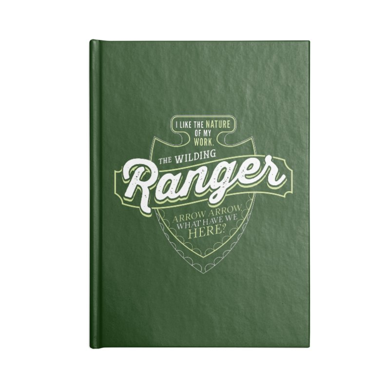 D&D Ranger Accessories Notebook by carlhuber's Artist Shop