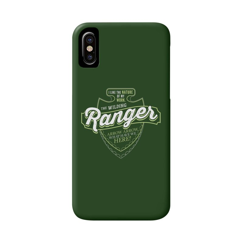 D&D Ranger Accessories Phone Case by carlhuber's Artist Shop