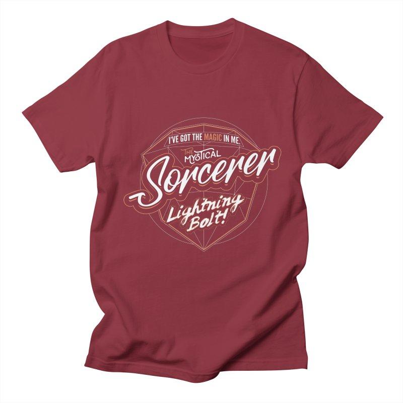 D&D Sorcerer Men's Regular T-Shirt by carlhuber's Artist Shop