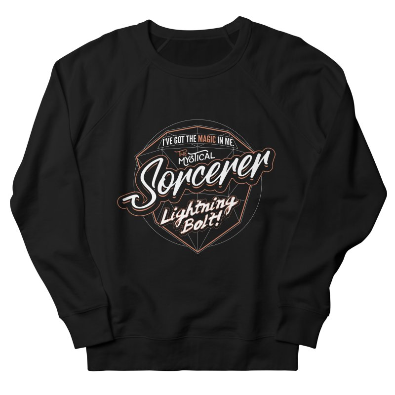 D&D Sorcerer Women's French Terry Sweatshirt by Carl Huber's Artist Shop