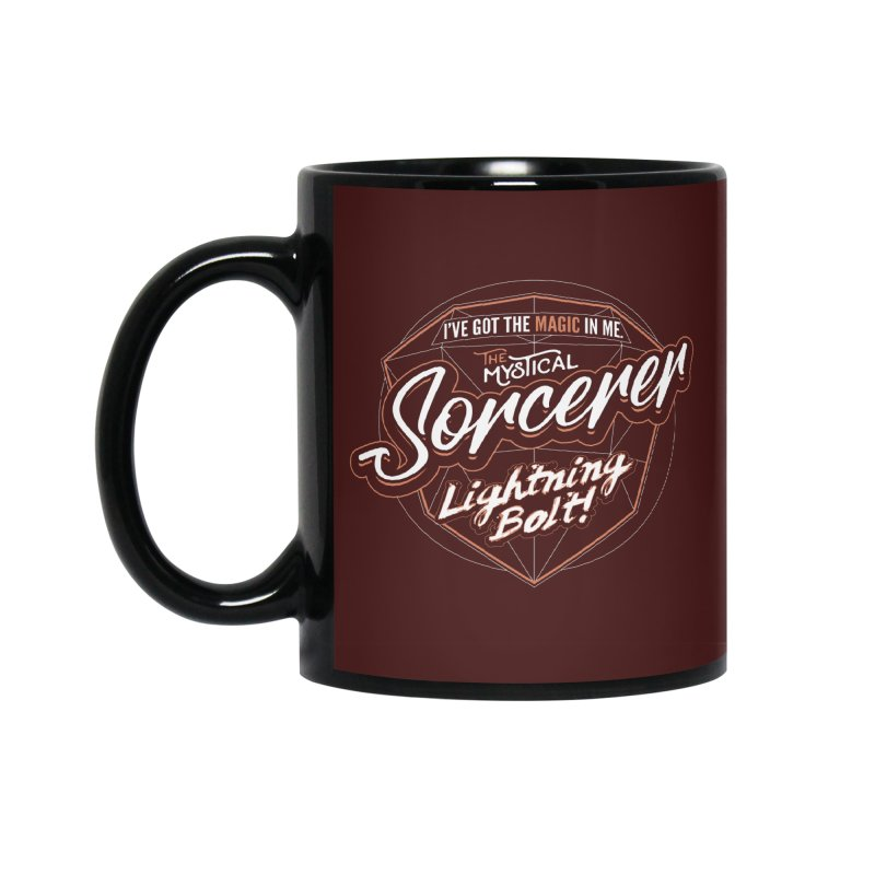 D&D Sorcerer Accessories Mug by carlhuber's Artist Shop