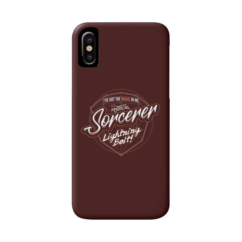 D&D Sorcerer Accessories Phone Case by carlhuber's Artist Shop