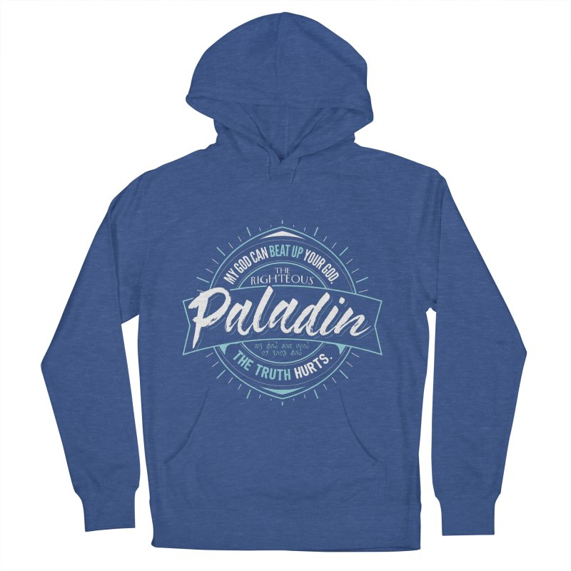 D&D Paladin Men's French Terry Pullover Hoody by carlhuber's Artist Shop