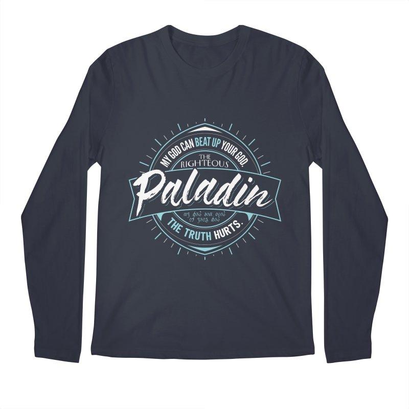 D&D Paladin Men's Regular Longsleeve T-Shirt by carlhuber's Artist Shop