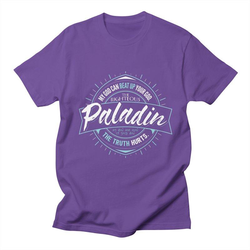 D&D Paladin Women's Regular Unisex T-Shirt by Carl Huber's Artist Shop
