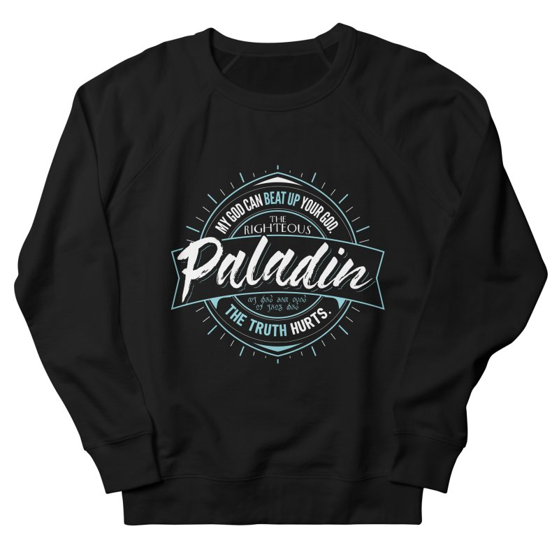 D&D Paladin Women's French Terry Sweatshirt by Carl Huber's Artist Shop