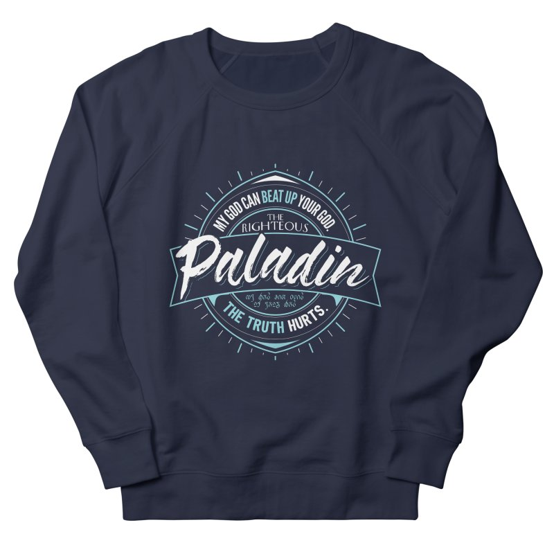 D&D Paladin Men's French Terry Sweatshirt by carlhuber's Artist Shop