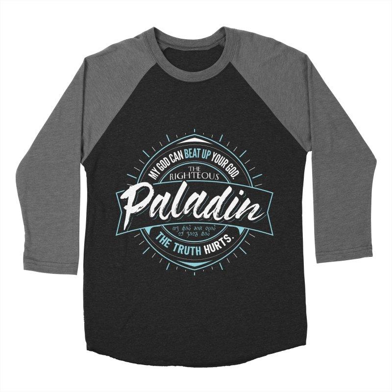 D&D Paladin Women's Baseball Triblend T-Shirt by carlhuber's Artist Shop