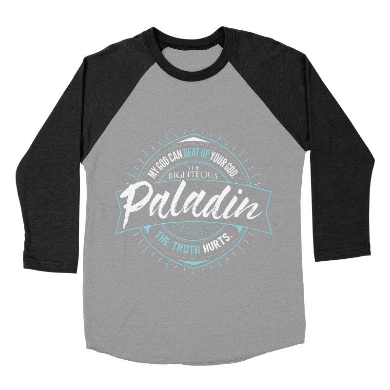 D&D Paladin Men's Baseball Triblend T-Shirt by carlhuber's Artist Shop