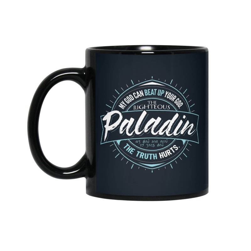 D&D Paladin Accessories Mug by carlhuber's Artist Shop