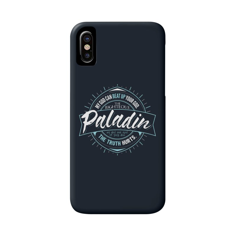D&D Paladin Accessories Phone Case by carlhuber's Artist Shop