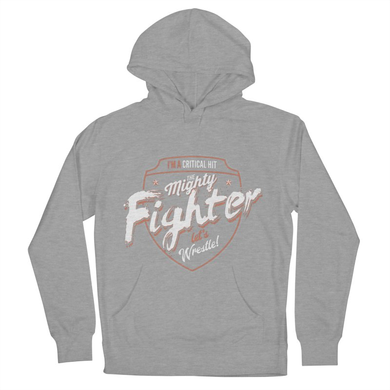 D&D Fighter Women's French Terry Pullover Hoody by carlhuber's Artist Shop