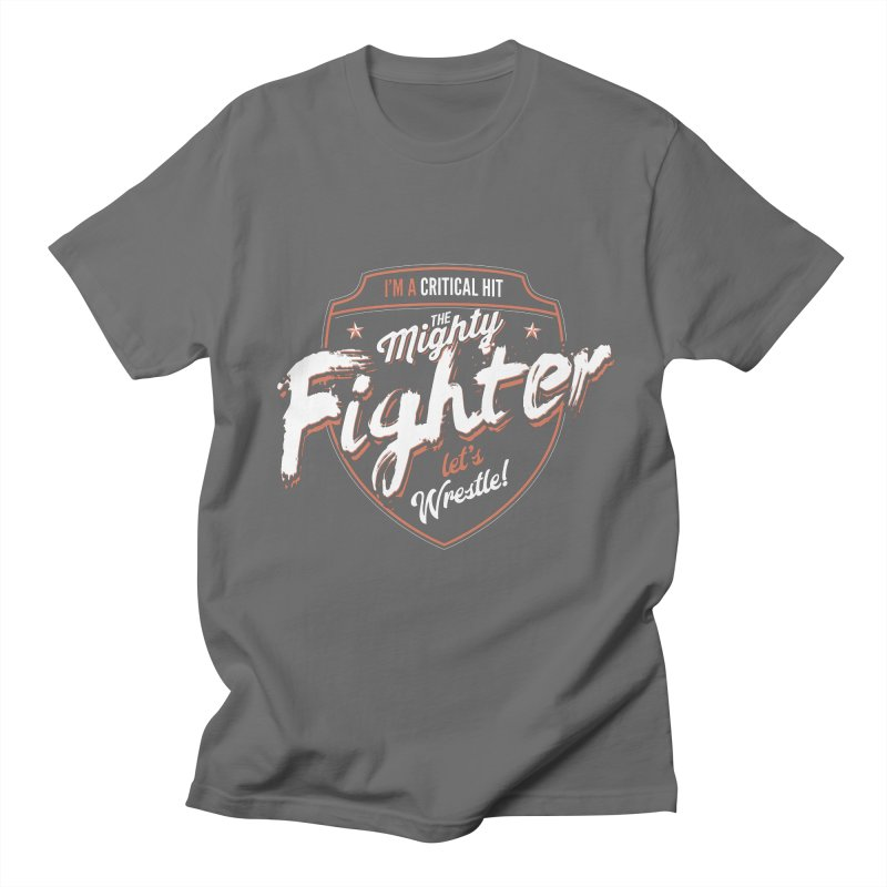 D&D Fighter Women's Unisex T-Shirt by carlhuber's Artist Shop