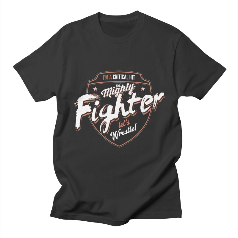 D&D Fighter Women's Regular Unisex T-Shirt by carlhuber's Artist Shop