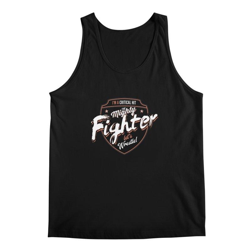 D&D Fighter Men's Regular Tank by carlhuber's Artist Shop