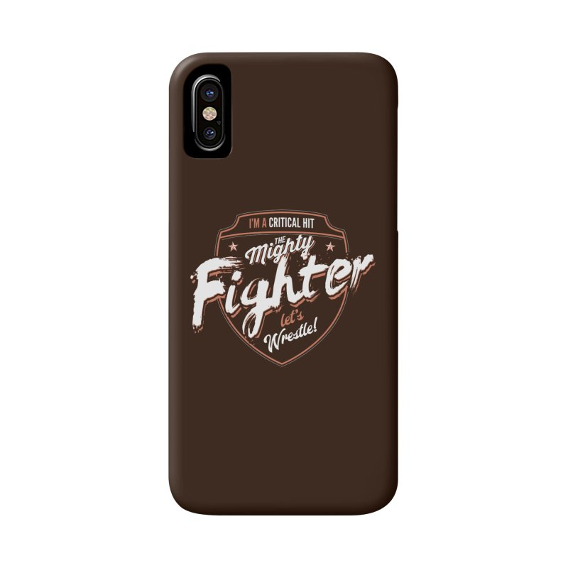 D&D Fighter Accessories Phone Case by carlhuber's Artist Shop