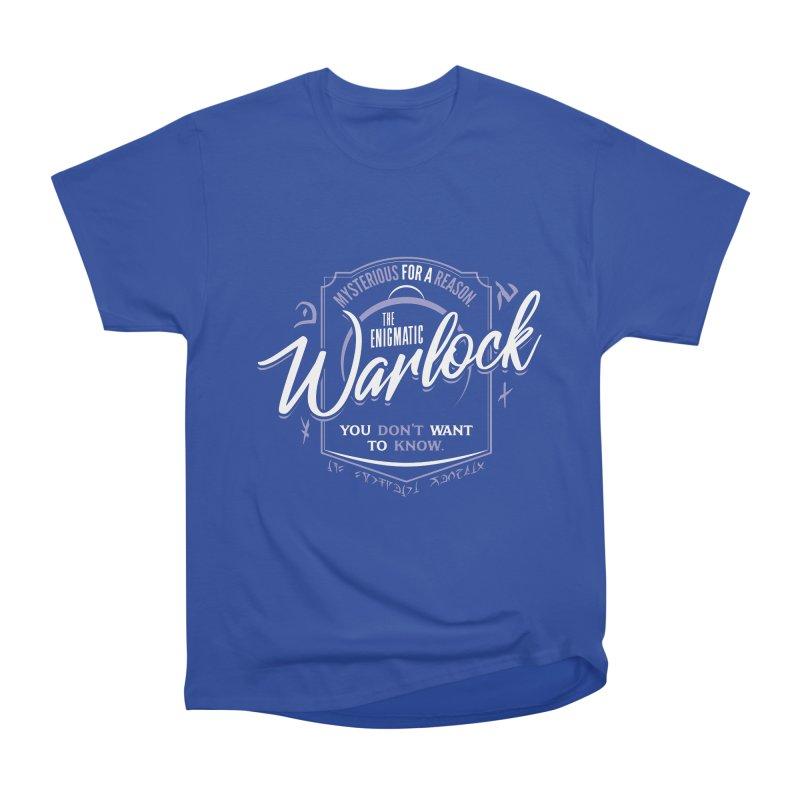 D&D Warlock Women's Heavyweight Unisex T-Shirt by Carl Huber's Artist Shop