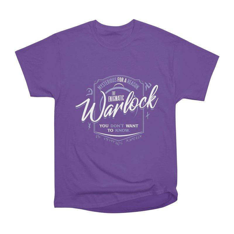 D&D Warlock Women's Heavyweight Unisex T-Shirt by carlhuber's Artist Shop