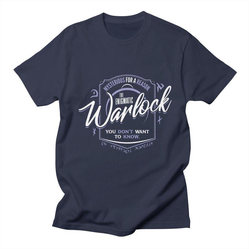 D&D Warlock Women's Regular Unisex T-Shirt by carlhuber's Artist Shop